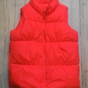 Old Navy Girl's Bright Pink Frost Free Vest Sz-L